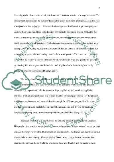 Marking Mix essay example