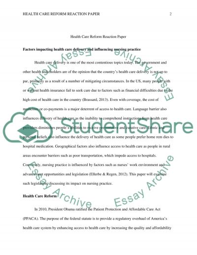 informative synthesis essay essay for students of high school  health care reform reaction paper term example topics and well health care reform reaction paper essay