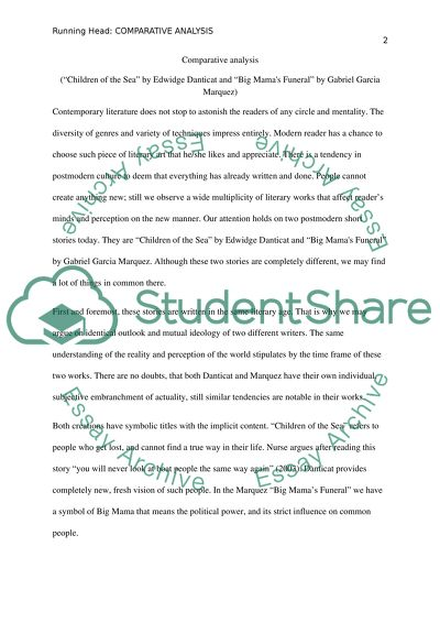 Essays About My School Comparative Analysis Journalistic Essay also What Are The Different Kinds Of Essay Comparative Analysis Essay Example  Topics And Well Written Essays  Stereotype Essays