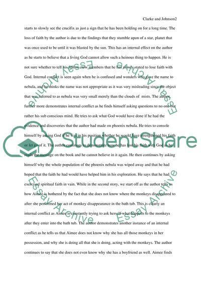 Clarke and Johnson Comparing Essays