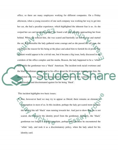 Diversity in the Workplace Essay essay example