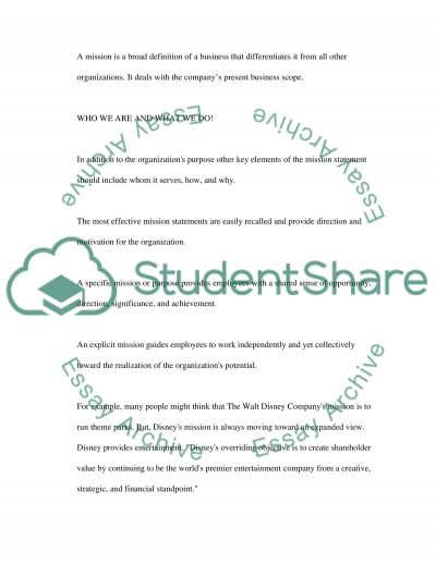 Business Assignment essay example
