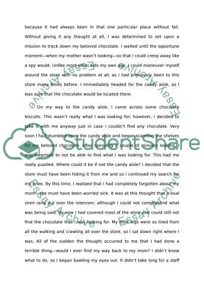 Childhood Paper Essay essay example