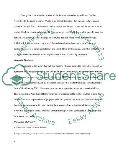 Thesis Statement For Persuasive Essay Family Law Best Essays In English also Proposal Essay Topic Family Law Essay Example  Topics And Well Written Essays   Words American Dream Essay Thesis