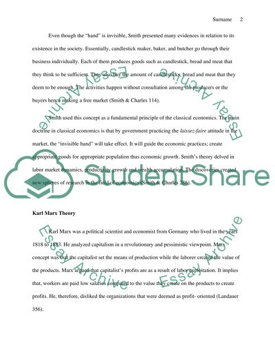 Friendship Essay In English Karl Marx Analysis Essay Thesis Example also Reflective Essay Thesis Statement Examples Adam Smith Vs Karl Marx Essay Example  Topics And Well Written  Research Paper Essays