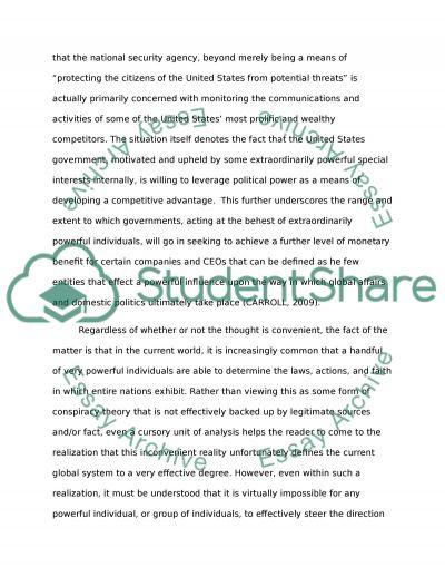 Elite essay
