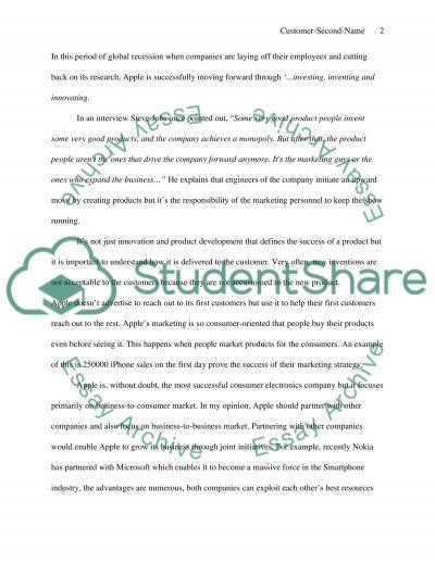 Apple essay example
