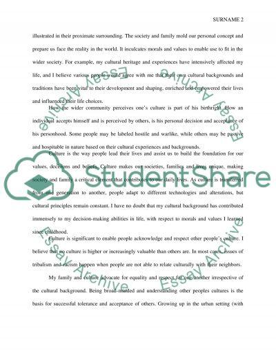 cultural self study essay example topics and well written cultural self study essay example