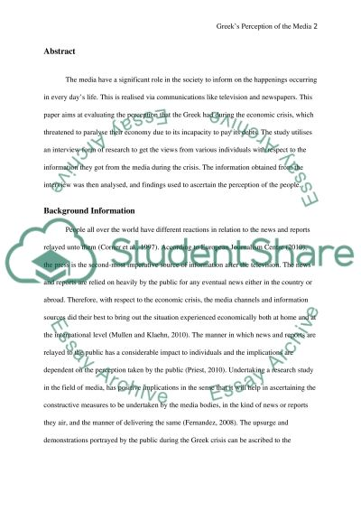 Methods of Research in Media and Communications essay example