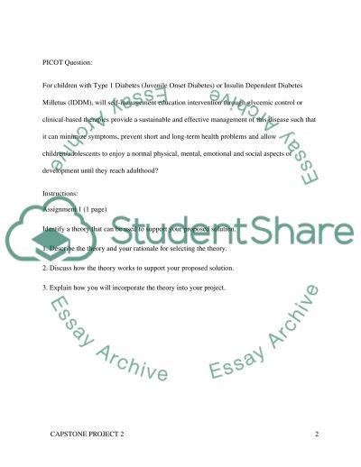 Capstone Project -2 essay example