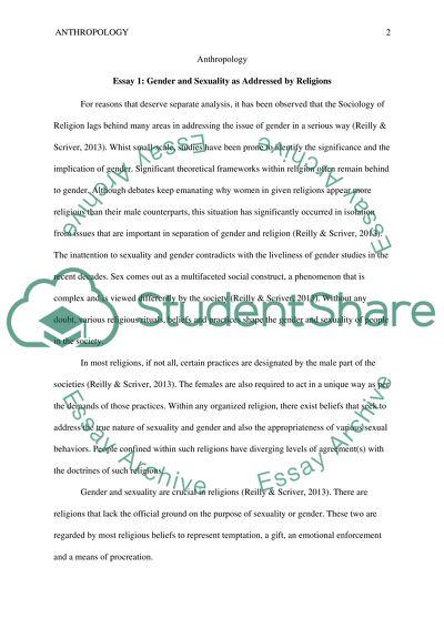Essay on anthropology of religion popular creative essay writing sites uk