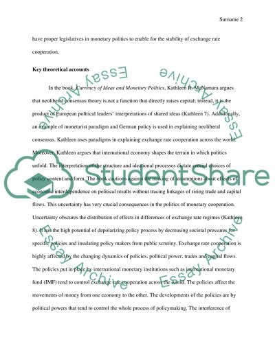cooperation essay examples