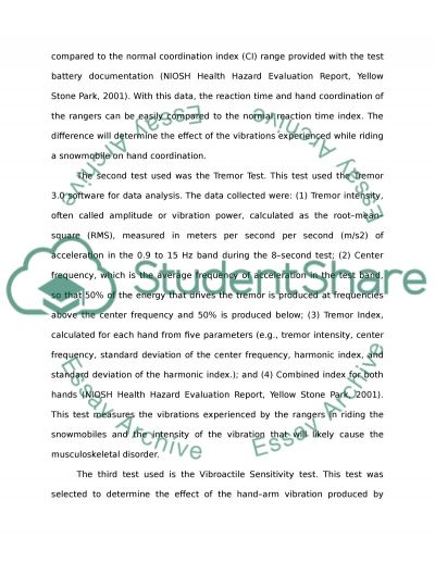 Critical analysis of the report essay example