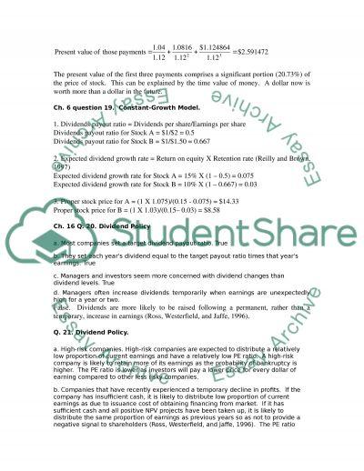 initial public offering paper 2 essay
