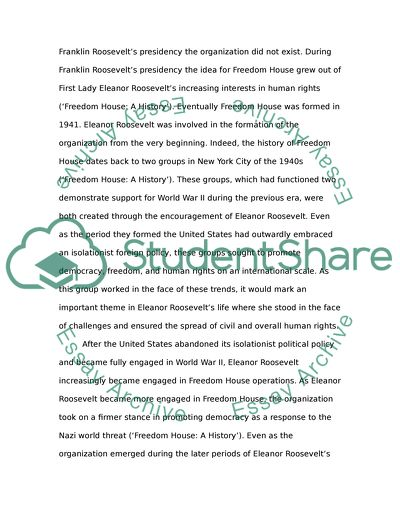 Causes Of The English Civil War Essay Eleanor Roosevelt Research Essay Thesis Statement Example also Politics And The English Language Essay Eleanor Roosevelt Essay Example  Topics And Well Written Essays  Informative Synthesis Essay