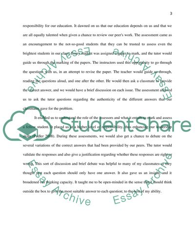 my classmate essay example