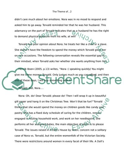 Apa Sample Essay Paper The Theme Of Emancipation In A Dolls House  Girl By Jamaica Kincaid Thesis Statement Essay also Research Proposal Essay Example The Theme Of Emancipation In A Dolls House  Girl By Jamaica  Essay On Business Communication