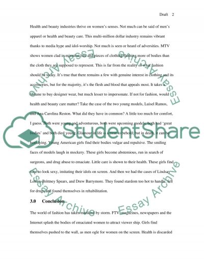 Drafting Introbodyconclusion essay example