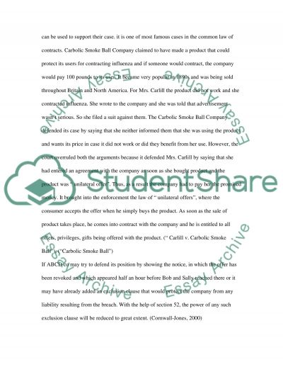 Business Law in Australia essay example