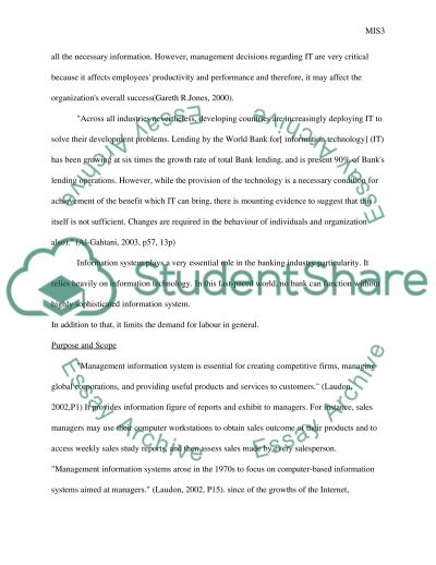 Mamagement of information technology essay example