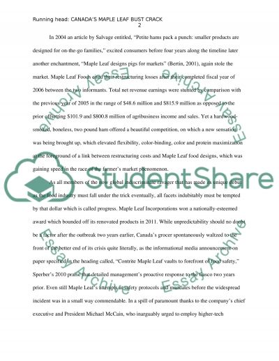 Final Project Paper essay example