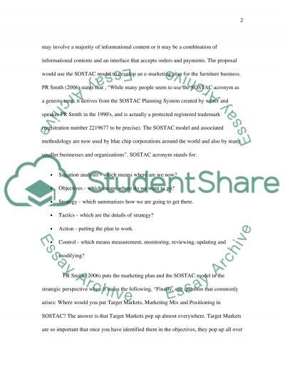 E-marketing Bachelor Essay essay example