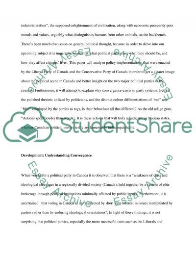 Political Parties Essay essay example