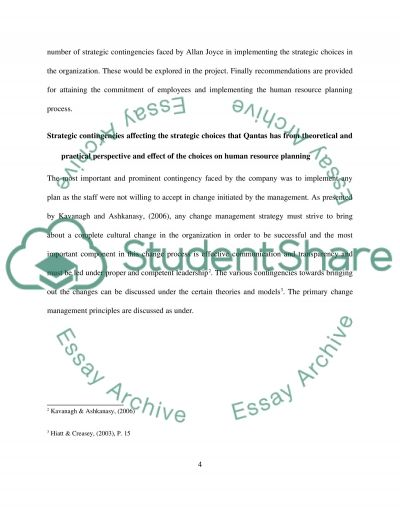 qantas case study essay example Case study pages: 6 (1863 words) | style: harvard | bibliography sources: 5 |  download full paper microsoft word file qantas in recent months, australian.