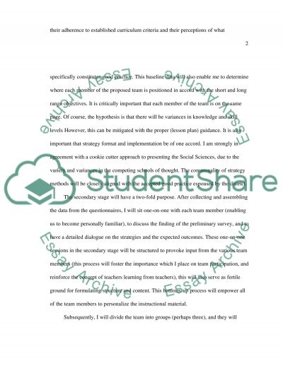 School district new leaders essay example