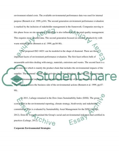 Lessons From Lafarge essay example