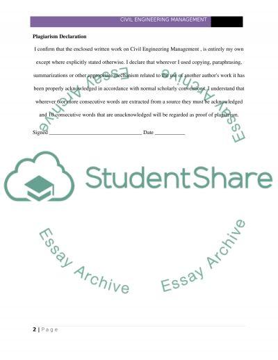 Managment Portfolio essay example