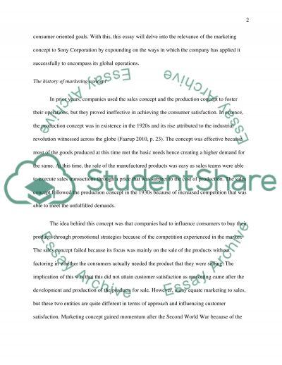Sony..read the requirement carefully essay example