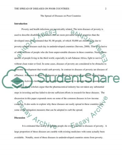 pathogens and the spread of disease essay