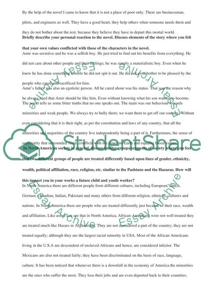 How To Write A Proposal Essay Example Cultural Diversity Novel Study Assignment The Kite Runner Thesis Statement For A Persuasive Essay also Essay On Business Cultural Diversity Novel Study Assignment The Kite Runner Essay   Reflection Paper Essay