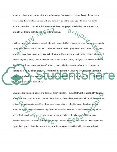 Anthropology High School Essay Essay example