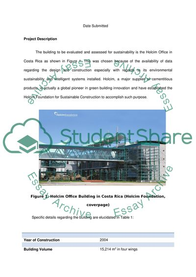 Sustainable and Intelligent Buildings