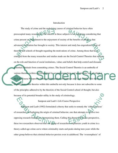 life course perspective paper