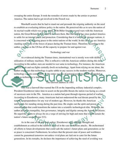 History Analysis Paper