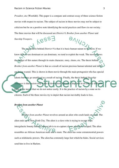 Modest Proposal Essay Ideas  Science Essay Example also Essay On High School Experience Racism In Science Fiction Movies Research Paper Science And Technology Essays