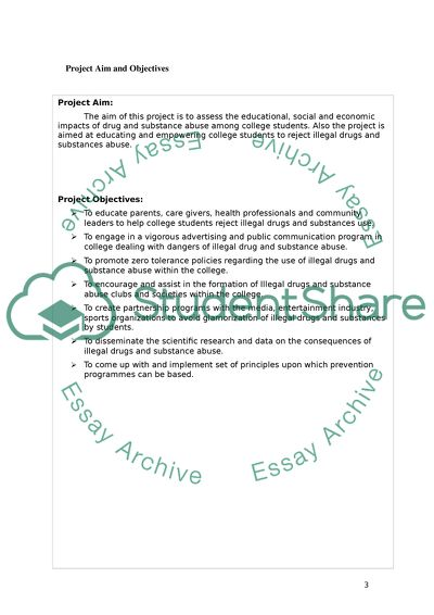 STUDENT-DESIGNED INDEPENDENT PROJECT USING THE PROVIDED TEMPLATE