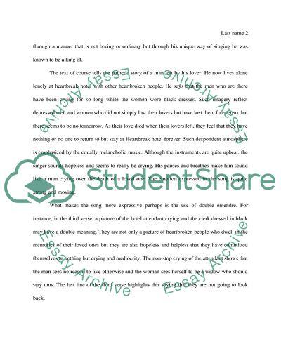 rock and roll essay topics