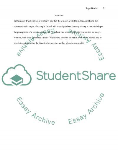 Bib 8 essay example