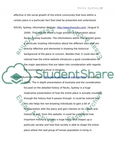 Sociology Project Summary and Annotated Bibliography essay example