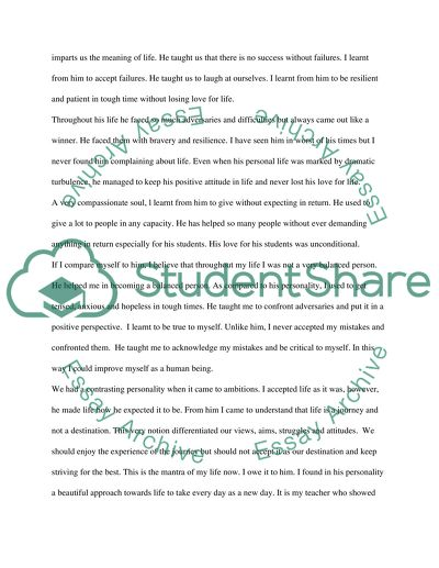 An Influential Personality Essay