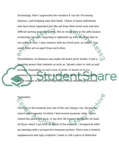 Technology as Symptom and Dream Essay example