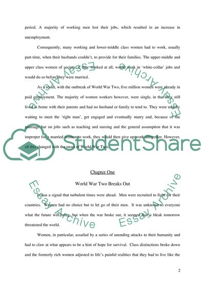 English Is My Second Language Essay The Effect Of World War Two On The Status Of British Women Small Essays In English also High School Admission Essay Samples The Effect Of World War Two On The Status Of British Women Essay Conscience Essay
