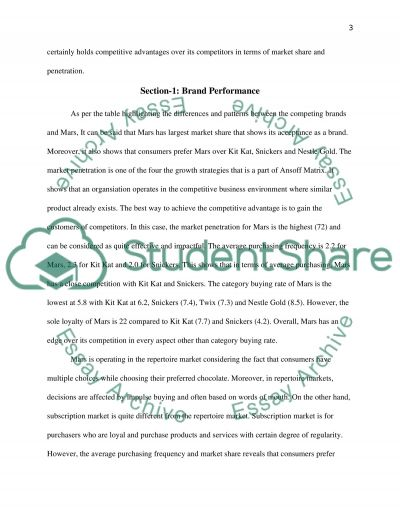 Buyer and Consumer Behaviour: Measuring and Interpreting Brand Performance essay example