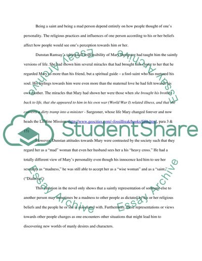 Fifth business essays