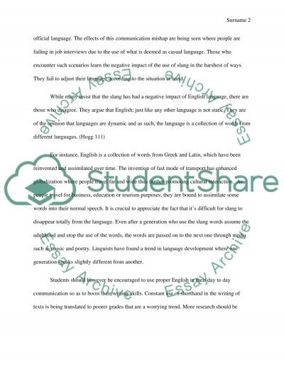 Journal entry essay example