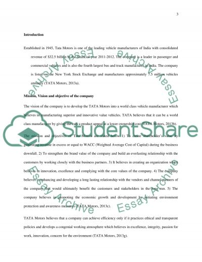 Organisational purposes and swot analysis essay example